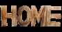 Des lettres en bois home